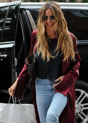Heidi Klum out in New York City