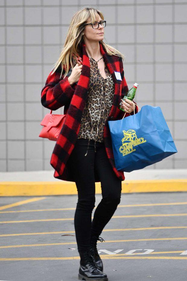 Heidi Klum: Out running errands in Los Angeles -02