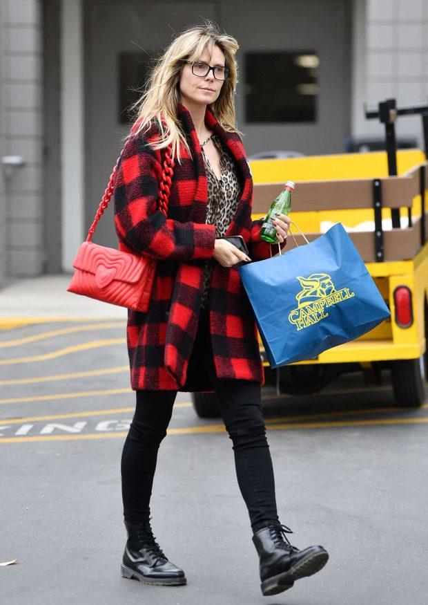 Heidi Klum - Out running errands in Los Angeles