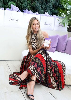 Heidi Klum - Perfectil Launch Event in Los Angeles