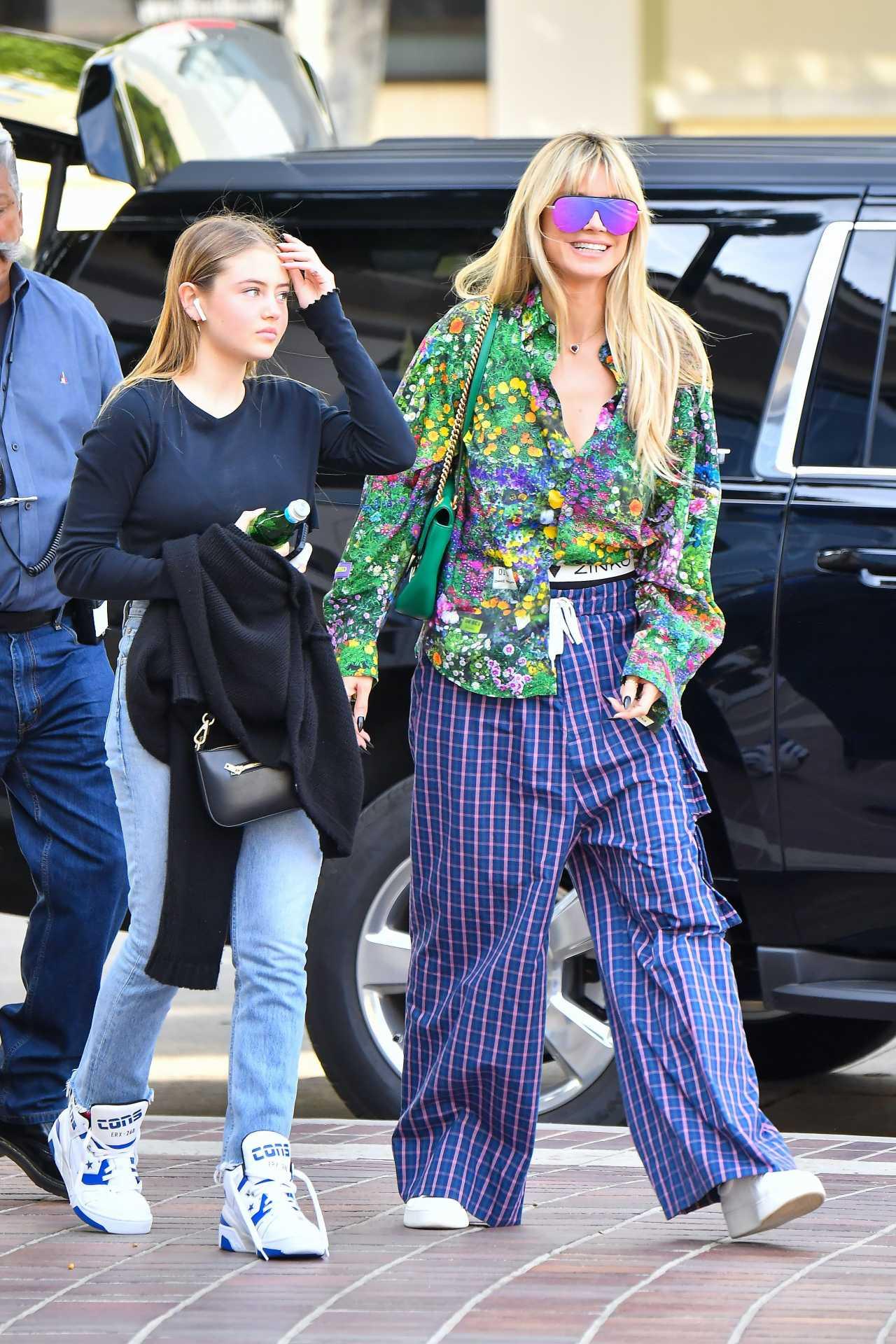 Heidi Klum 2020 : Heidi Klum – Seen at the Americas Got Talent studio in California-20