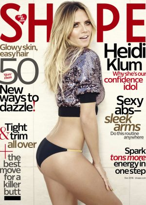 Heidi Klum - Shape US Magazine (December 2016)