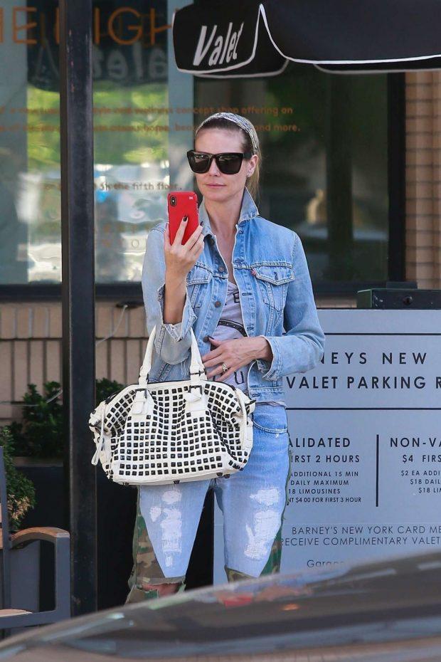 Heidi Klum: Shopping at Barneys New York-05