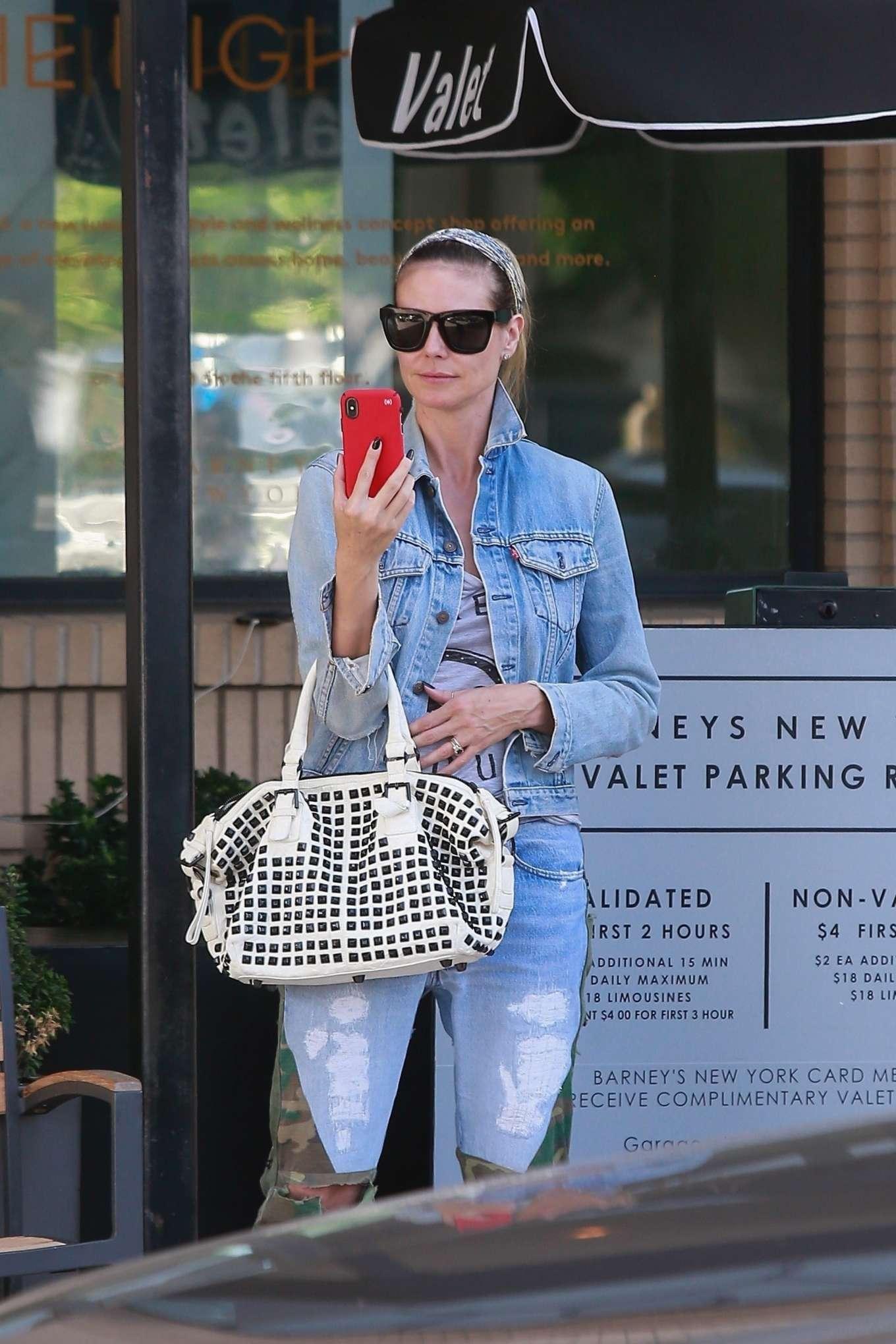 Heidi Klum 2019 : Heidi Klum: Shopping at Barneys New York-05