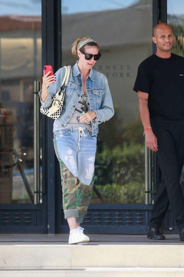 Heidi Klum: Shopping at Barneys New York-07