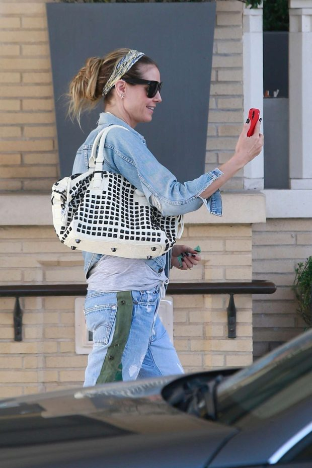 Heidi Klum: Shopping at Barneys New York-10