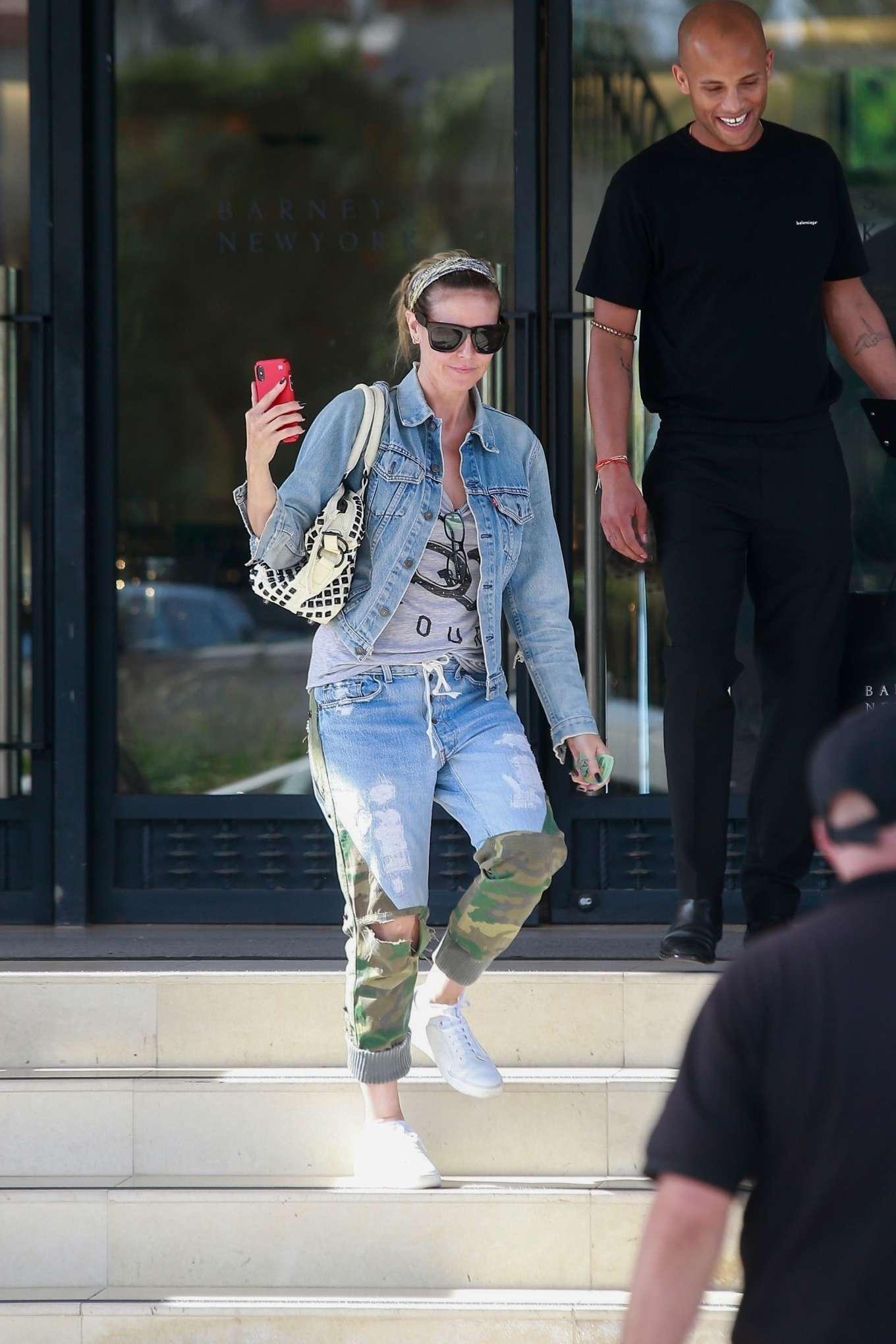 Heidi Klum 2019 : Heidi Klum: Shopping at Barneys New York-11
