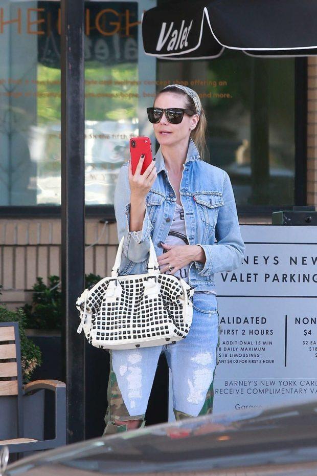 Heidi Klum: Shopping at Barneys New York-13