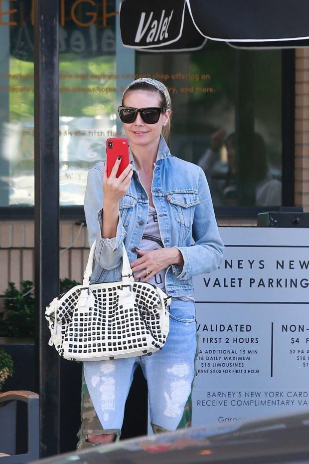 Heidi Klum 2019 : Heidi Klum: Shopping at Barneys New York-14