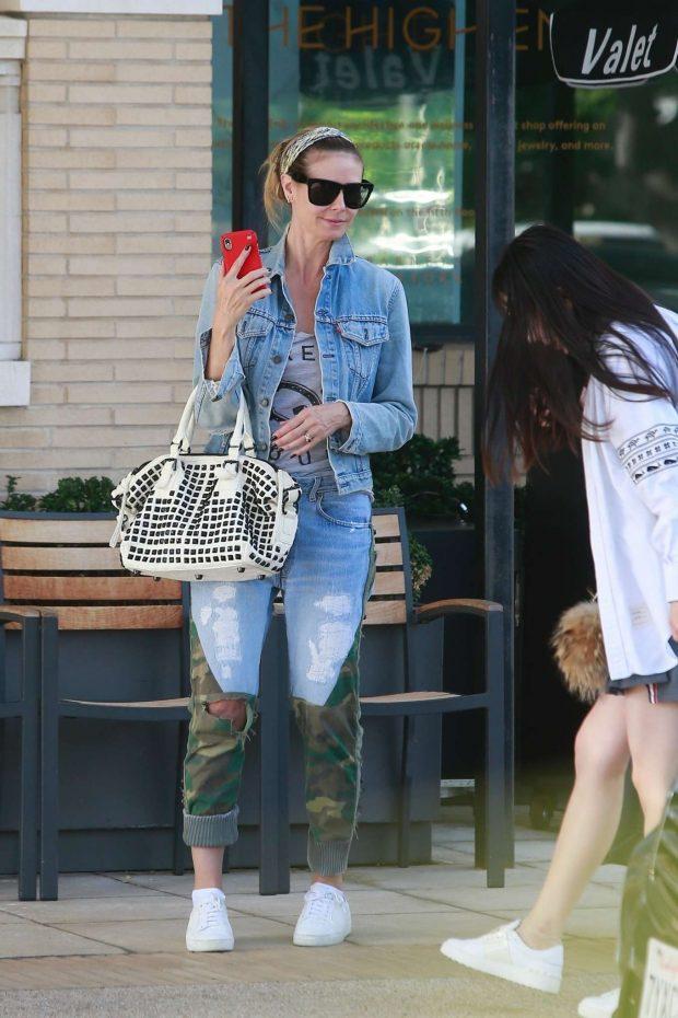 Heidi Klum: Shopping at Barneys New York-15