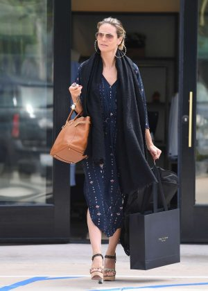 Heidi Klum - Shopping at Rag and Bone in Brentwood