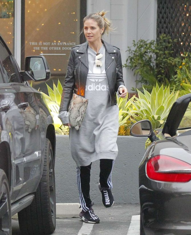 Heidi Klum - Shopping in Beverly Hills
