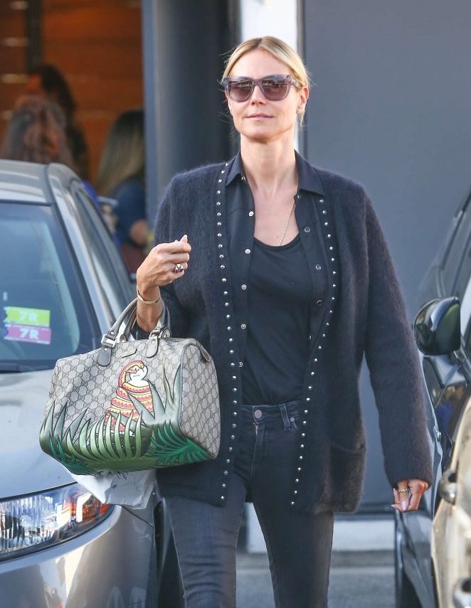 Heidi Klum - Shopping in Los Angeles