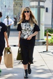Heidi Klum - Shops at The Grove in Los Angeles