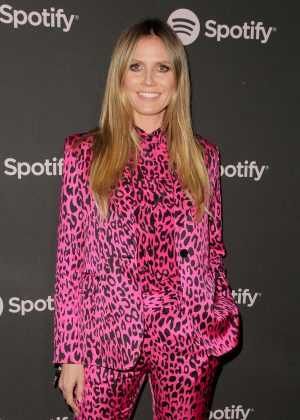 Heidi Klum - Spotify 'Best New Artist 2019' Event in LA