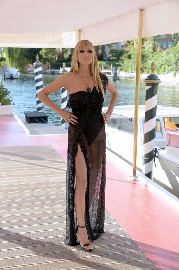 Heidi Klum - Spotted in Venice