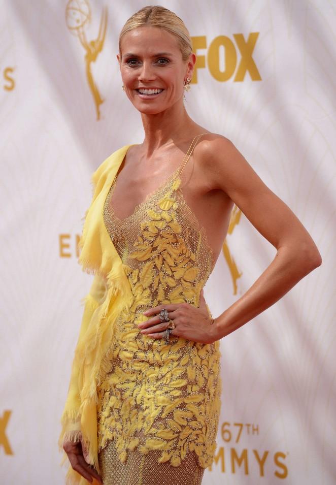 Heidi Klum - 2015 Primetime Emmy Awards in LA