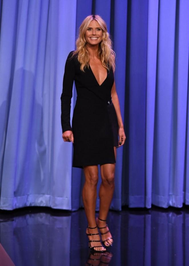 Heidi Klum: The Tonight Show Starring Jimmy Fallon -01
