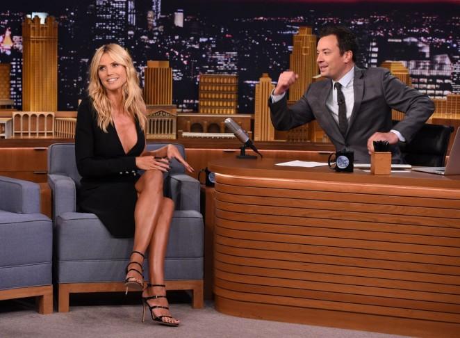 Heidi Klum: The Tonight Show Starring Jimmy Fallon -02