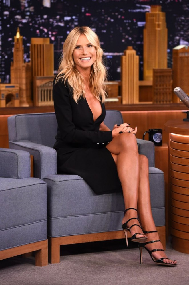 Heidi Klum: The Tonight Show Starring Jimmy Fallon -04