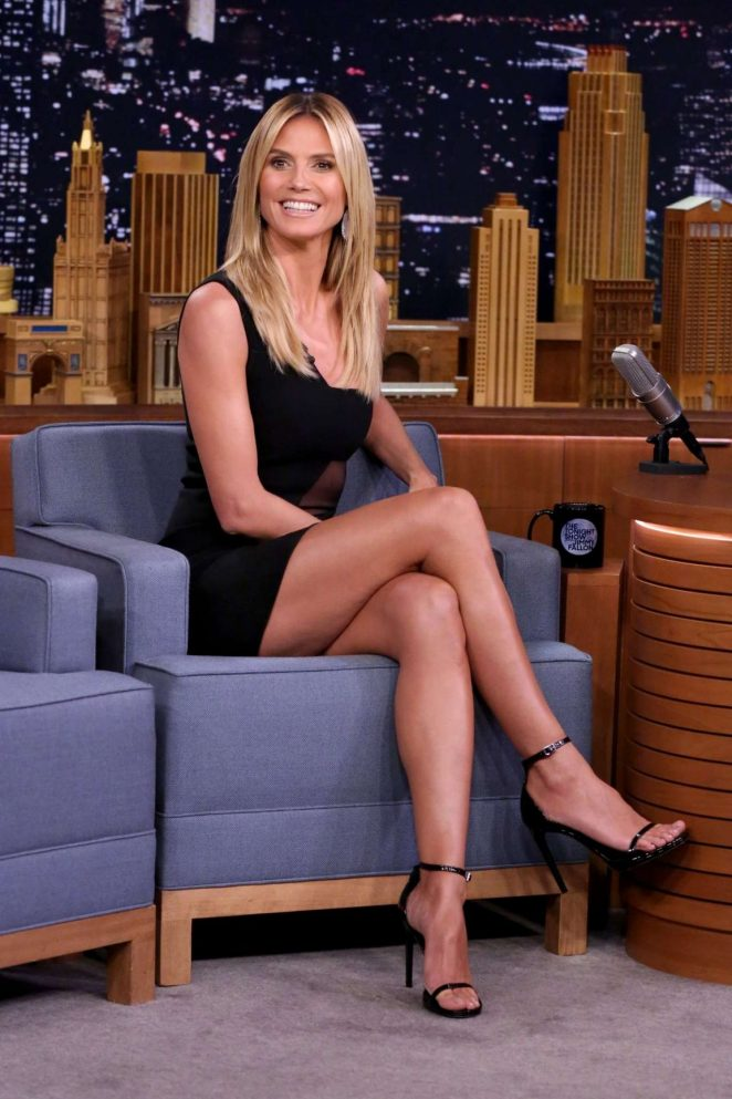 Heidi Klum - 'The Tonight Show with Jimmy Fallon' in New York