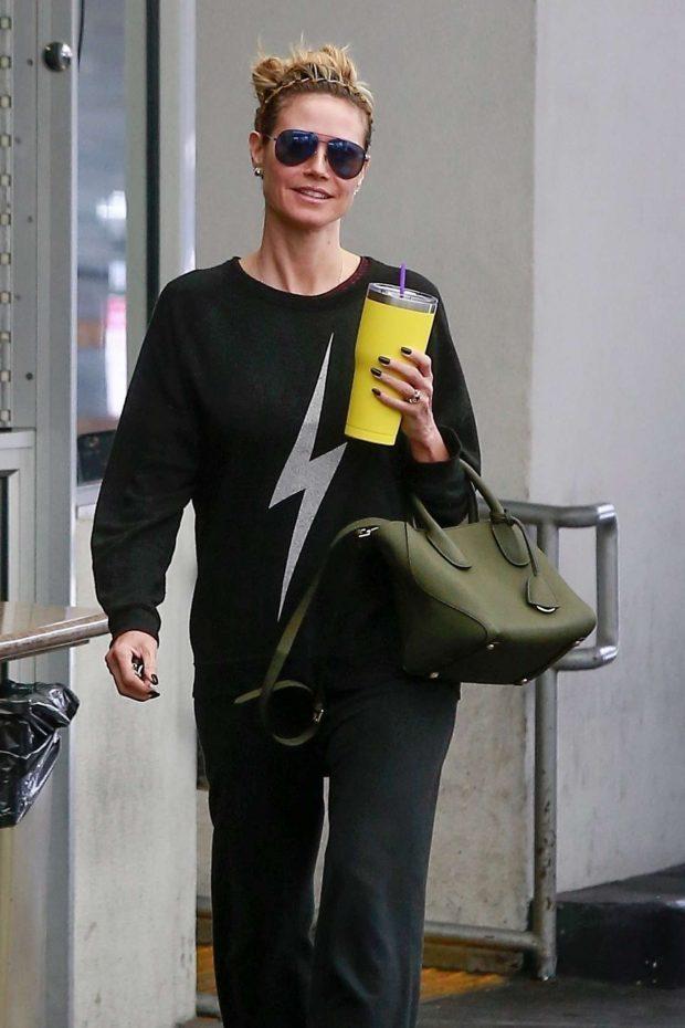 Heidi Klum: Visit her dermatologist in Beverly Hills-03 | GotCeleb