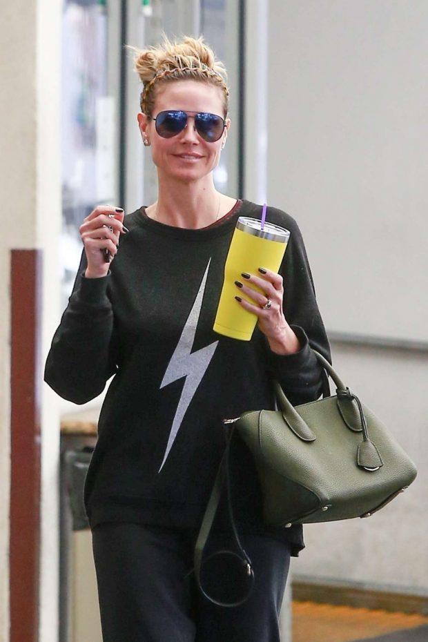 Heidi Klum: Visit her dermatologist in Beverly Hills-09 | GotCeleb