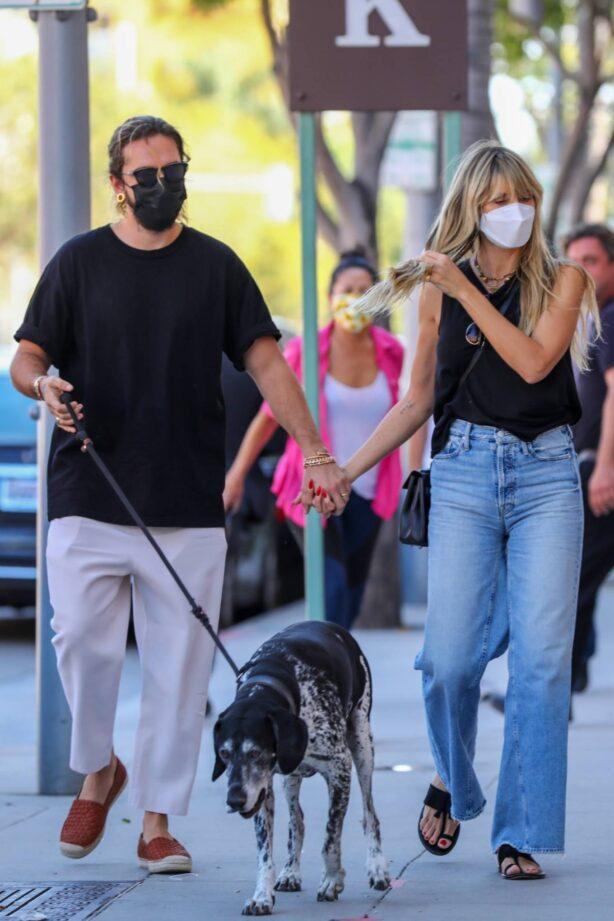Heidi Klum - With Tom Kaulitz go shopping in Beverly Hills