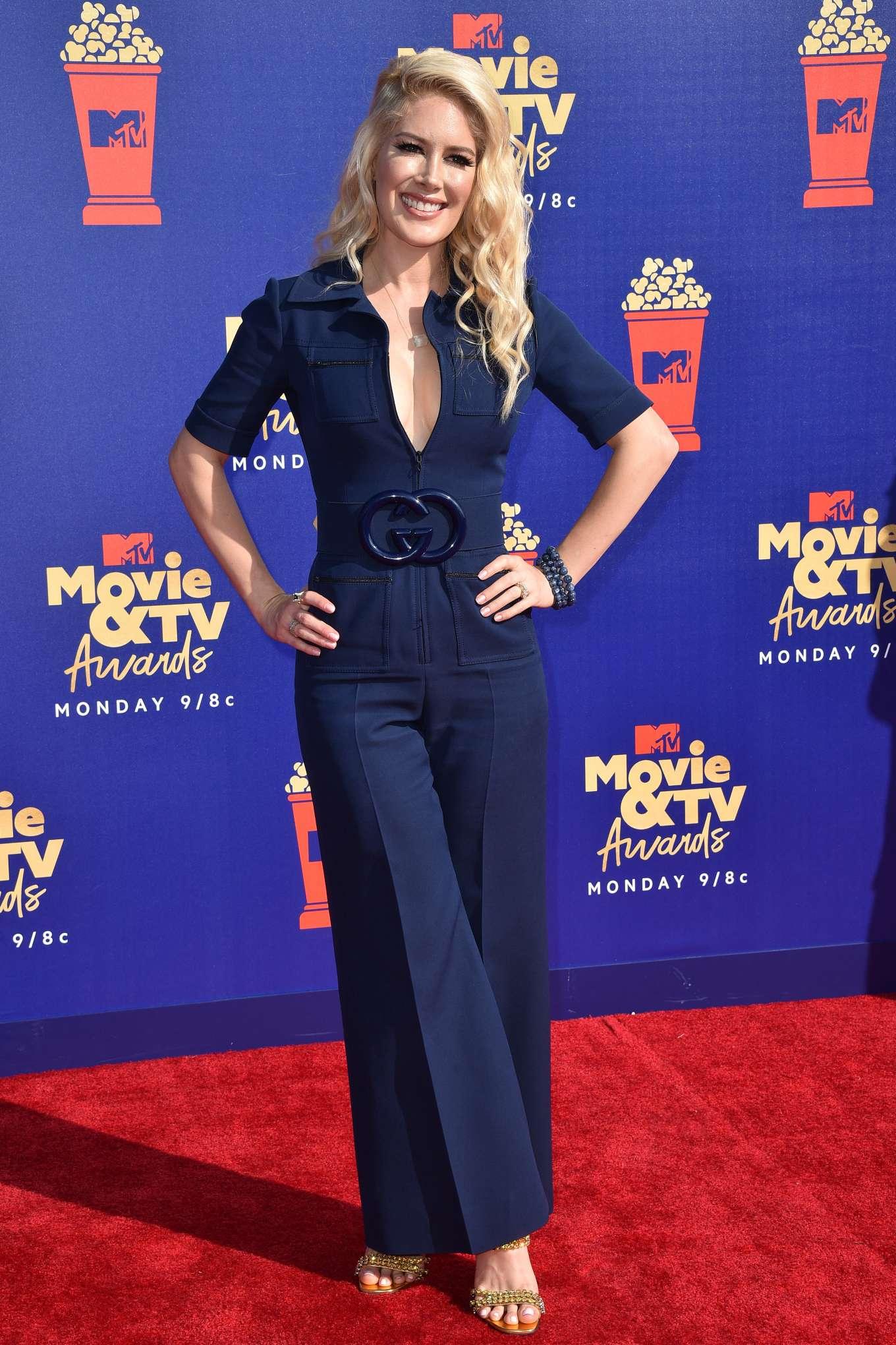 Heidi Montag 2019 : Heidi Montag: 2019 MTV Movie and TV Awards Red Carpet-05