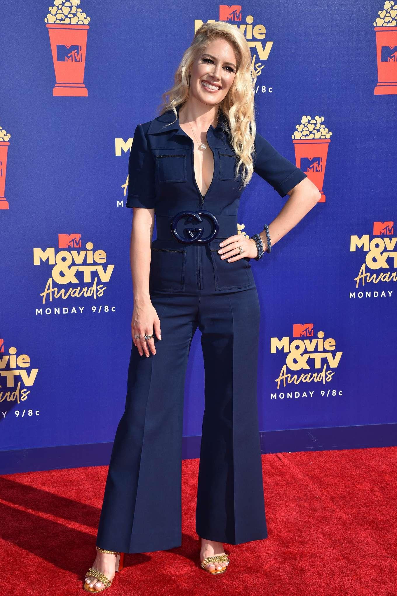 Heidi Montag 2019 : Heidi Montag: 2019 MTV Movie and TV Awards Red Carpet-06