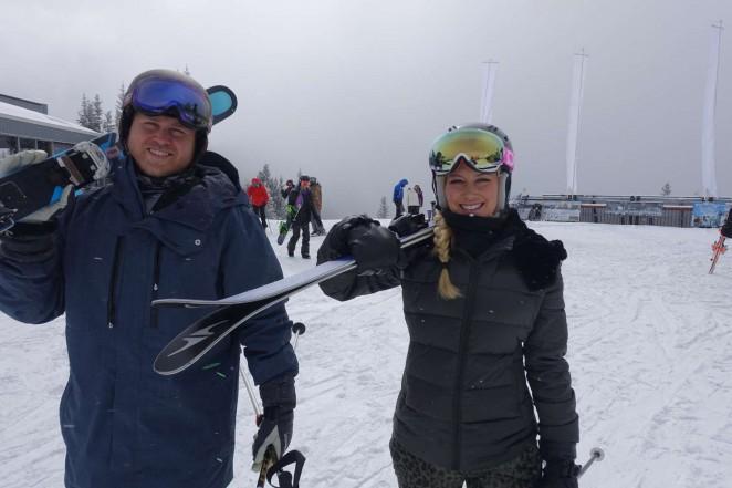 Heidi Montag And Spencer Pratt in Aspen