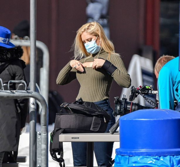 Heidi Montag - Filming of her reality show 'The Hills: New Beginnings' in Lake Tahoe