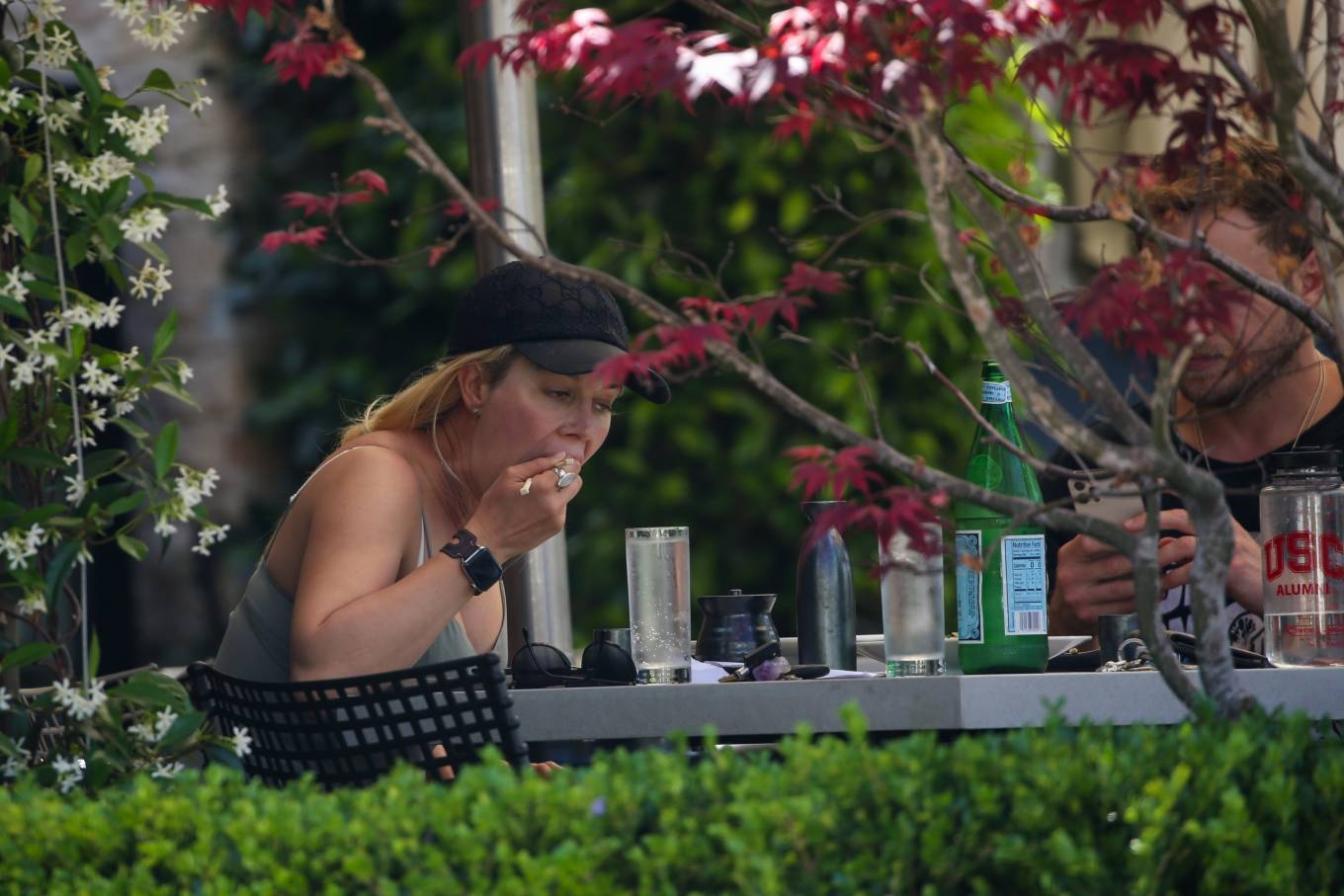 Heidi Montag 2021 : Heidi Montag – Have a romantic sushi lunch in Pacific Palisades-11