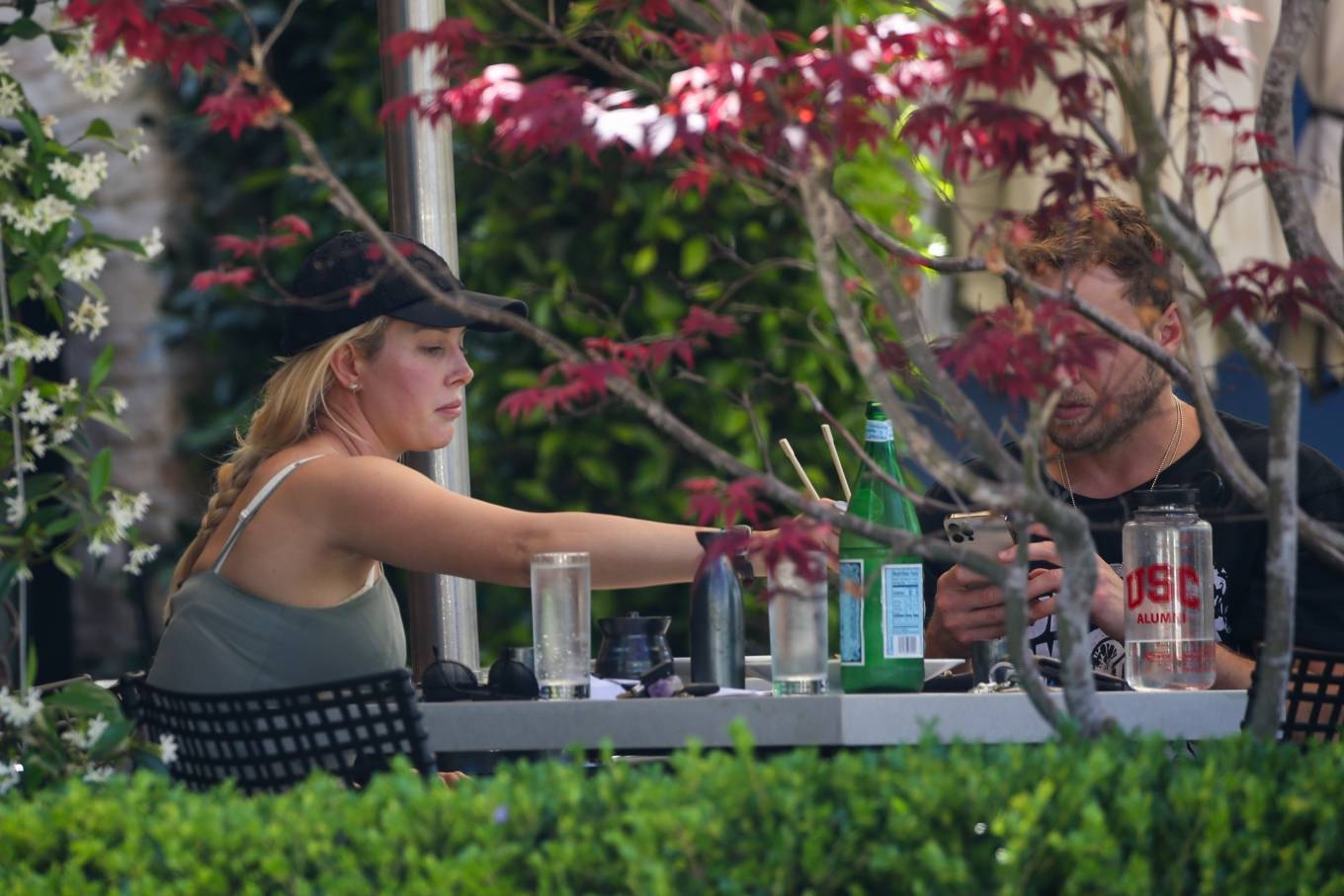 Heidi Montag 2021 : Heidi Montag – Have a romantic sushi lunch in Pacific Palisades-12