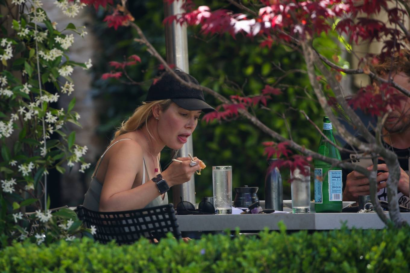 Heidi Montag 2021 : Heidi Montag – Have a romantic sushi lunch in Pacific Palisades-17