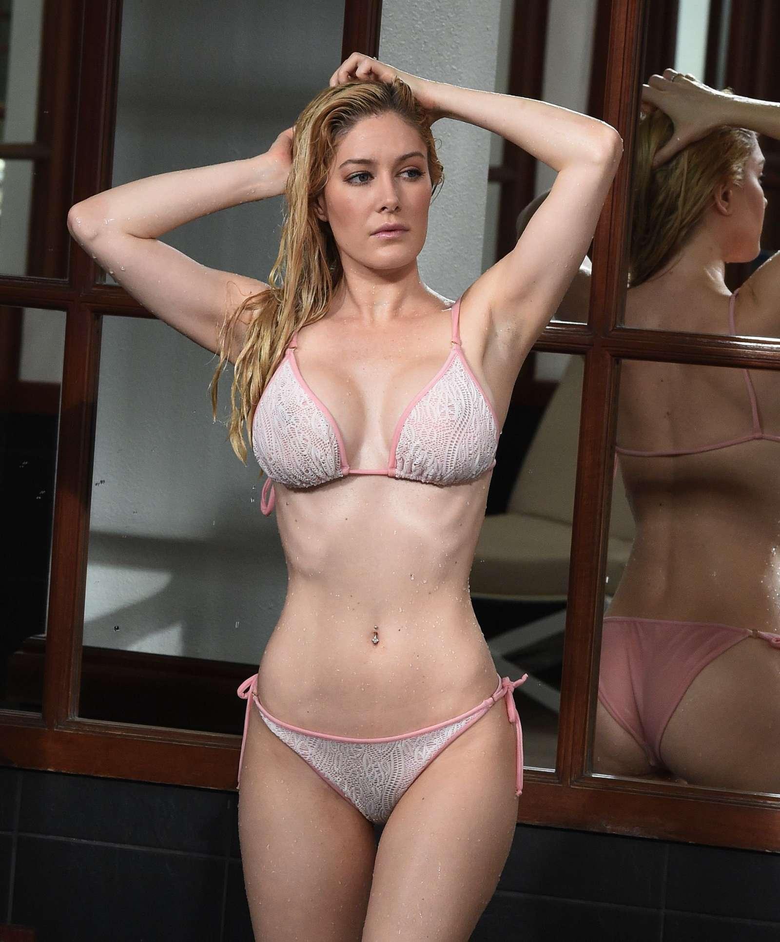 Heidi montag nude, naked