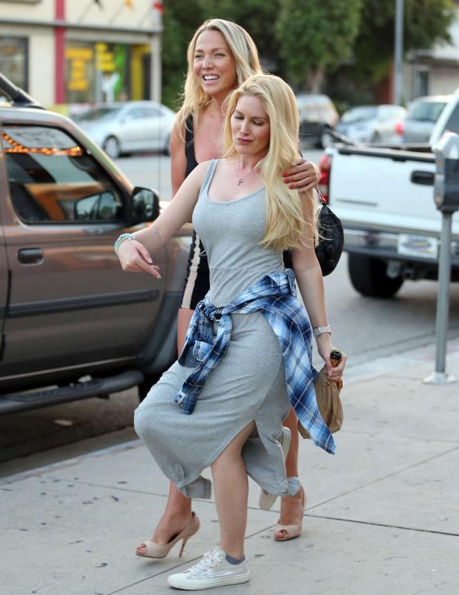 Heidi Montag - Leaving a Comedy Club in LA