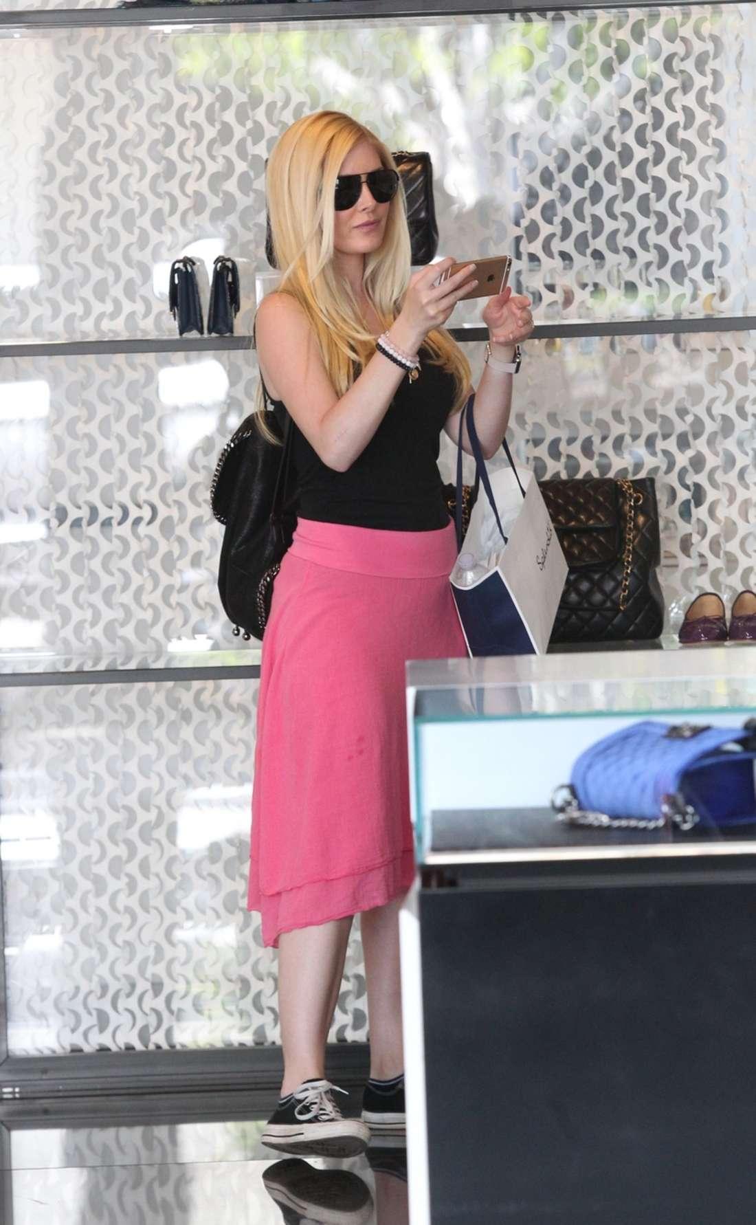 Heidi Montag 2015 : Heidi Montag: Shopping in LA -05