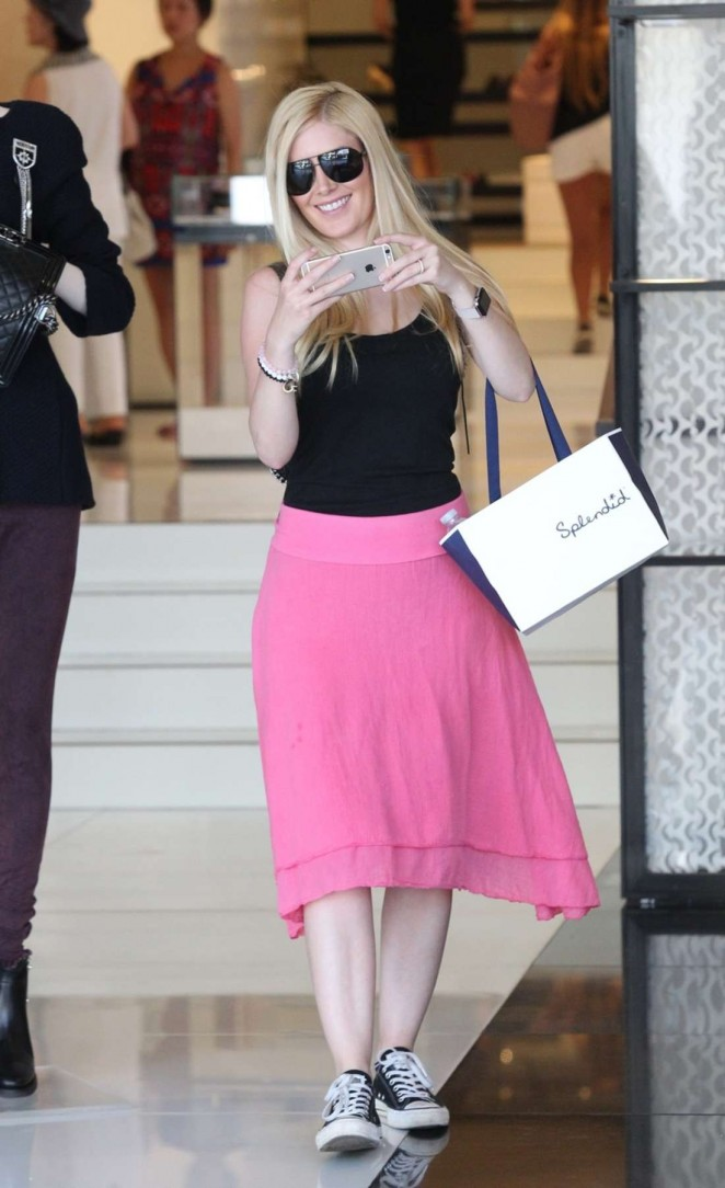 Heidi Montag - Shopping in LA