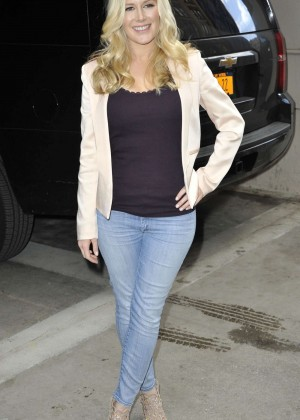 Heidi Montag - Visits The Today Show in NYC