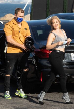 Heidi Montag - With Spencer Pratt spotted in Malibu