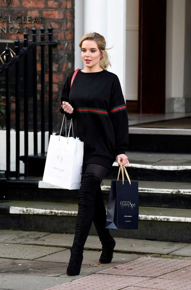 Helen Flanagan at Crystal Clear in Liverpool