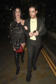 Helen Flanagan - Leaving the Molly Mae Beauty Work Event in Manchester