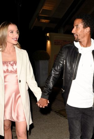 Helen Flanagan - On a date night in Manchester