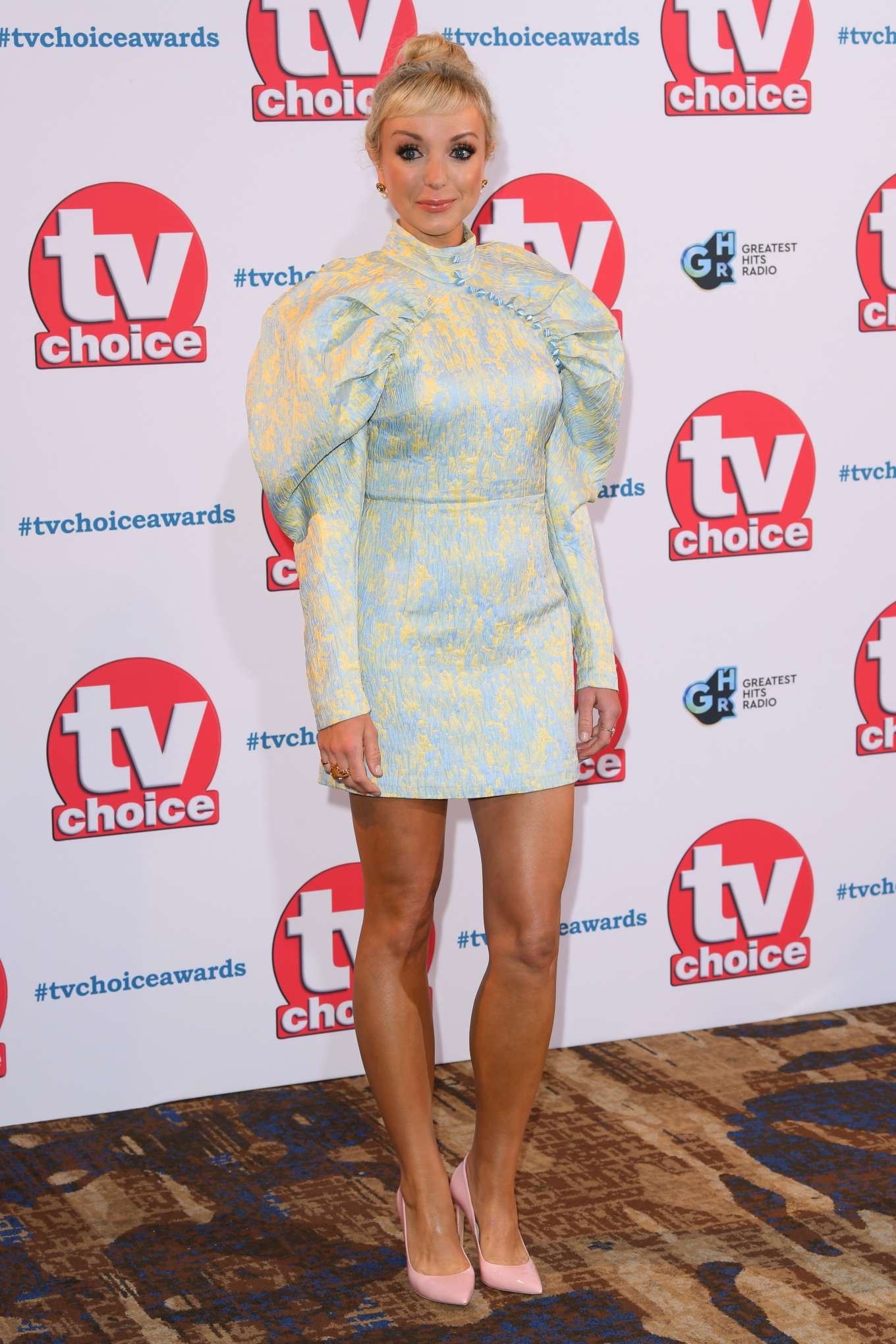 Helen George - 2019 TV Choice Awards in London