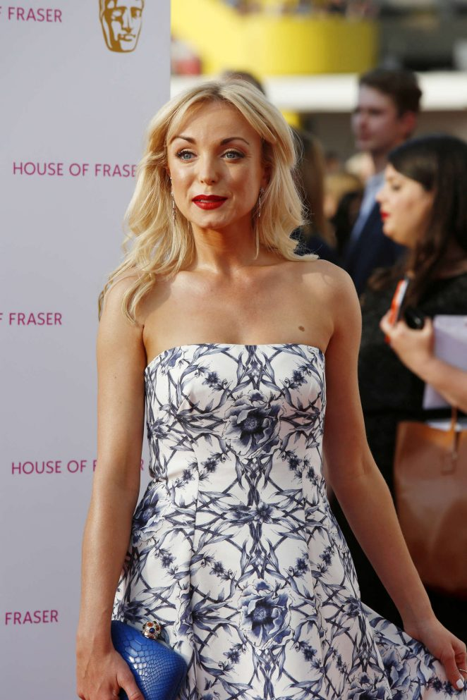 Helen George - BAFTA TV Awards 2016 in London