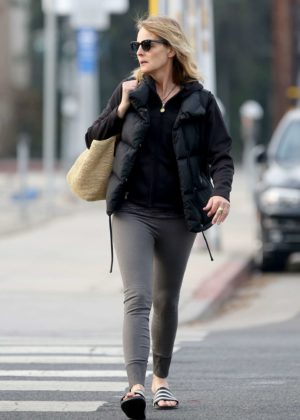 Helen Hunt - Heads the yoga studio in LA