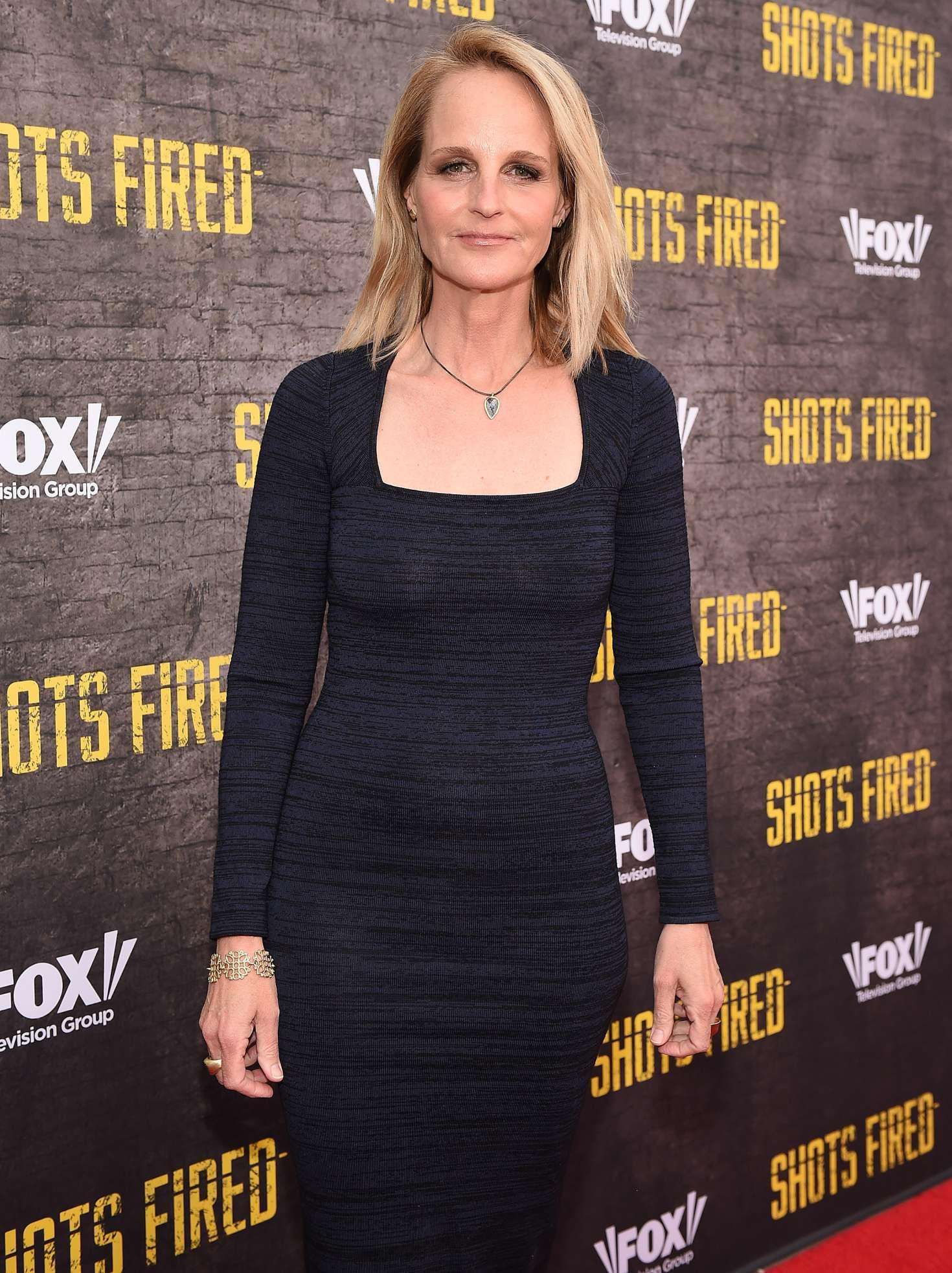 Helen Hunt Shots Fired Screening In Los Angeles Gotceleb