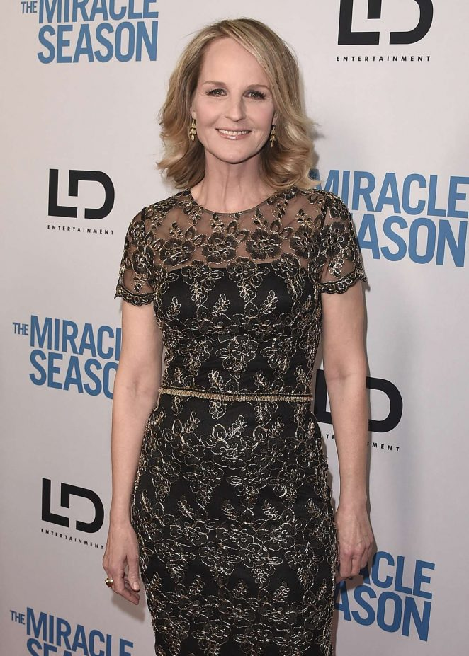 Helen Hunt – 'The Miracle Season' Premiere in Beverly Hills