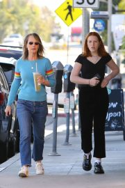 Helen Hunt with daughter Makena Lei - Shopping in Brentwood